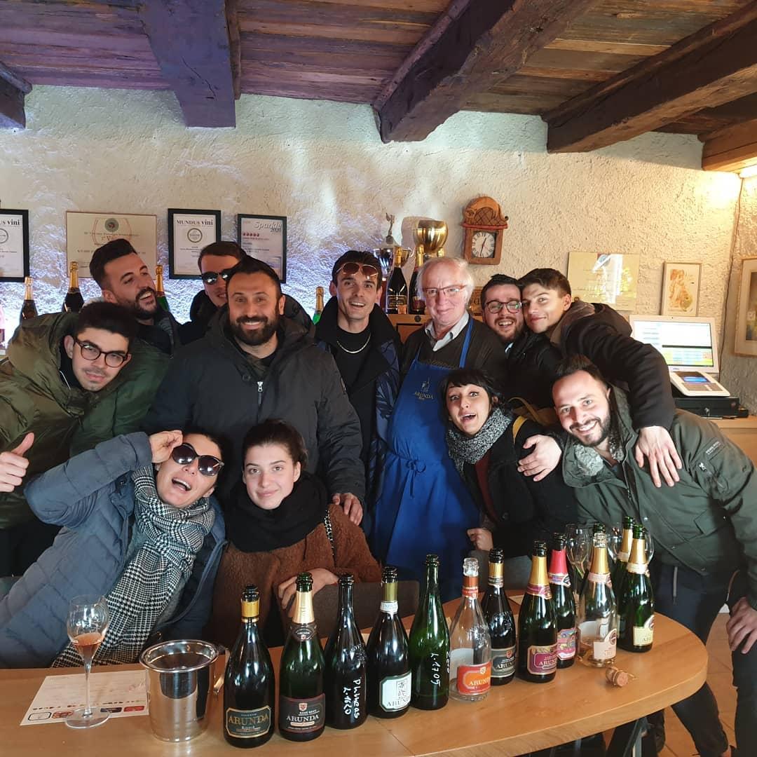 Un grandissimo gruppo in degustazione alla cantina @arundavivaldi con anche…